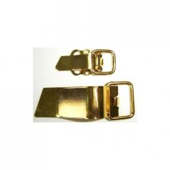 clip metal dore  10paires