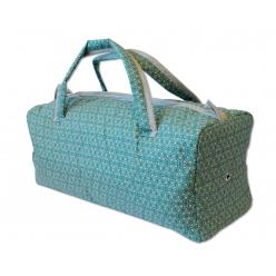 sac a ouvrage avec oeillet verdure