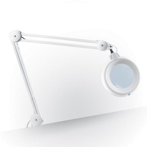 Lampe loupe Slimline à LED blanche