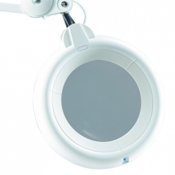 lampe loupe slimline a led blanche