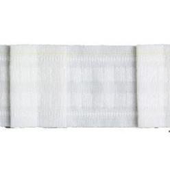ruban plisseur pour voilage 75mm pli plat x100m
