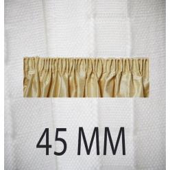 ruban fronceur en tergal 45 mm 50m