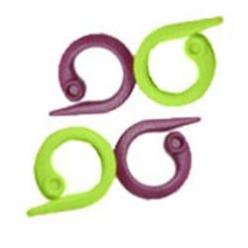 anneaux marqueurs fendus pour le tricot30 pc