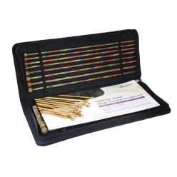 set d aiguilles droite symfonie knit pro 30 cm