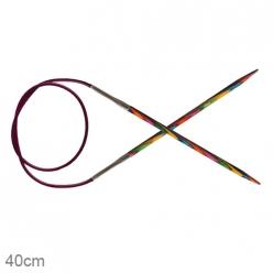 aiguilles circulaires knit pro fixes  40cm symponie
