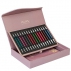 coffret aiguilles a tricoter knitpro royale  the luxury collection