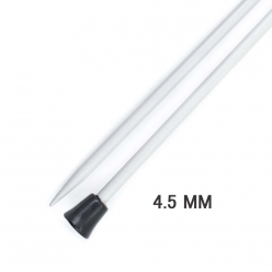 aiguilles en aluminium droite basix 25cm n45