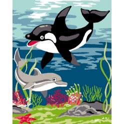 kit canevas enfant 2520 la mer