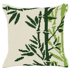 kit coussin demi point  bambou