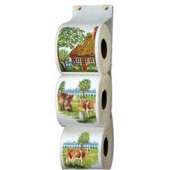 kit a broder range papier toilette  la normandie