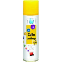colle en spray temporaire de decoupage 250 ml 101