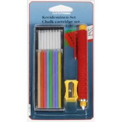 set de crayons et craies de marquage hm 41006