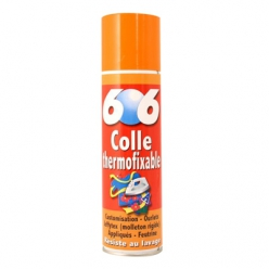 colle spray 606 tissu 250ml odif