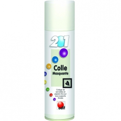 Colle en spray Odif 201 spécial serviette 250ml