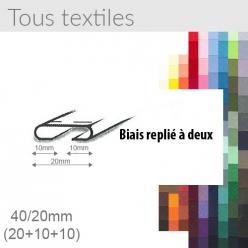 biais tous textile 20mm unis replie a 2  25m