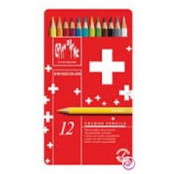 crayonsdecouleurswisscolorboitemtallique12