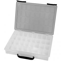 valisette de rangement avec 32 compartiments