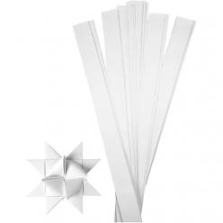 bandesdepapiertoiles115cmblanc