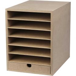 etageres pour cartons et papiers formar a4