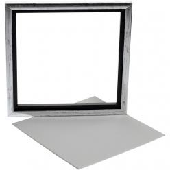 canevas avec cadre dim 25x25 cm canevas 224 x 224 cm