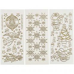 Stickers peel off Noel 20 feuilles