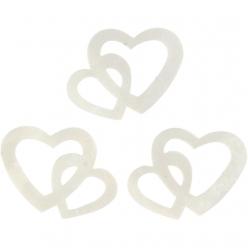 paillettes coeur 31x22 mm 10 gr
