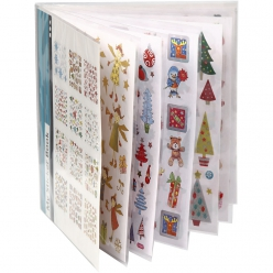 Sticker Book : 12 planches d'Autocollants fantaisie