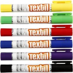 peinture pour textile playcolor 6 couleurs