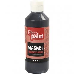 peinture magnetique noir 250 ml