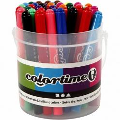 marqueurs colortime 42 pieces