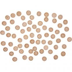 boutons en bois 18 mm a 4 trous 40 piece