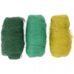 laine cardee assortiment vertturquoise 3x10gr