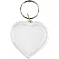 porte cles coeur en plastique 25 pieces