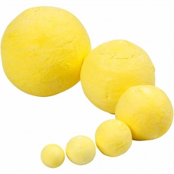boules en ouate coloris jaune 12 50 mm 90 pieces