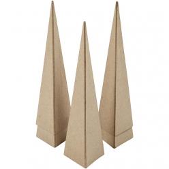 lot de 5 cones carrees 20 cm