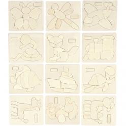 puzzleenbois125x145cm4mmavecmotifs12pices