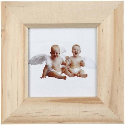 cadre photo en bois 11x11 cm