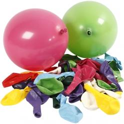 set de 100 ballons colores