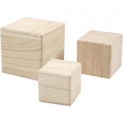 cubes en bois 568 cm