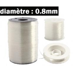 fil elastique 08 mm3 longeurs disponibles