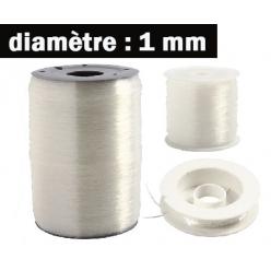 fil elastique 1mm3 longeurs disponibles