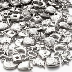 breloquesargentesenplastique200pices