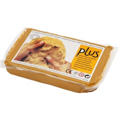 lot de 12 kg de pâte auto-durcissante jaune curry