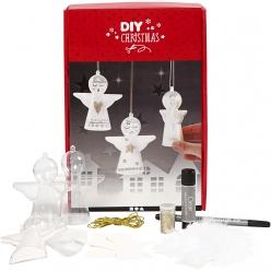 kit de decorations pour 3 anges
