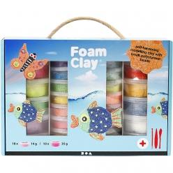 mega set foam clay pate pour couvrir