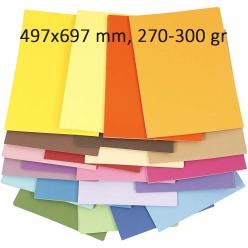 papiercouleur497x697mm270 300gr10f
