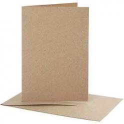 cartes et enveloppes recycl 115x165 cm 10 sets
