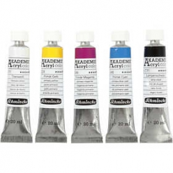 set de schmincke akademie acryl color 5x20ml