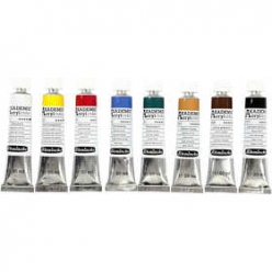 set schmincke akademie acryl color 8x20 ml
