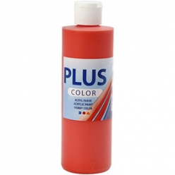 pluscolorpeintureacrylique250mlrouge
